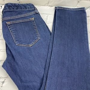 Gap real straight 27r jeans